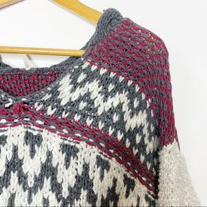 Free People Knit Pullover Sweater